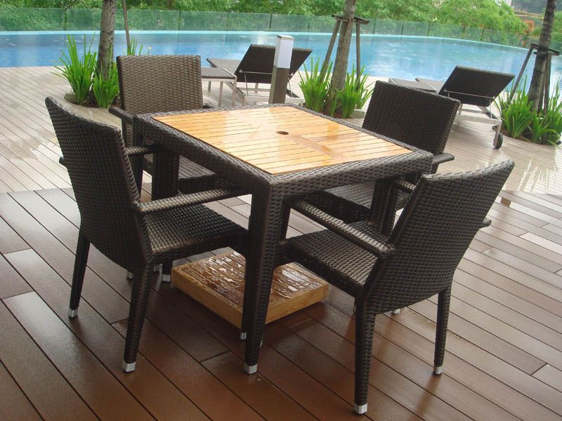 Teak Outdoor Furniture - Outdoor Chairs - Hawaii Chair