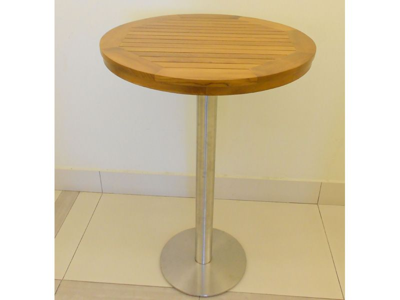 Teak dining furniture bar tables setia round bar table setia round bar table bar tables teak furniture malaysia and indonesia watchthetrailerfo