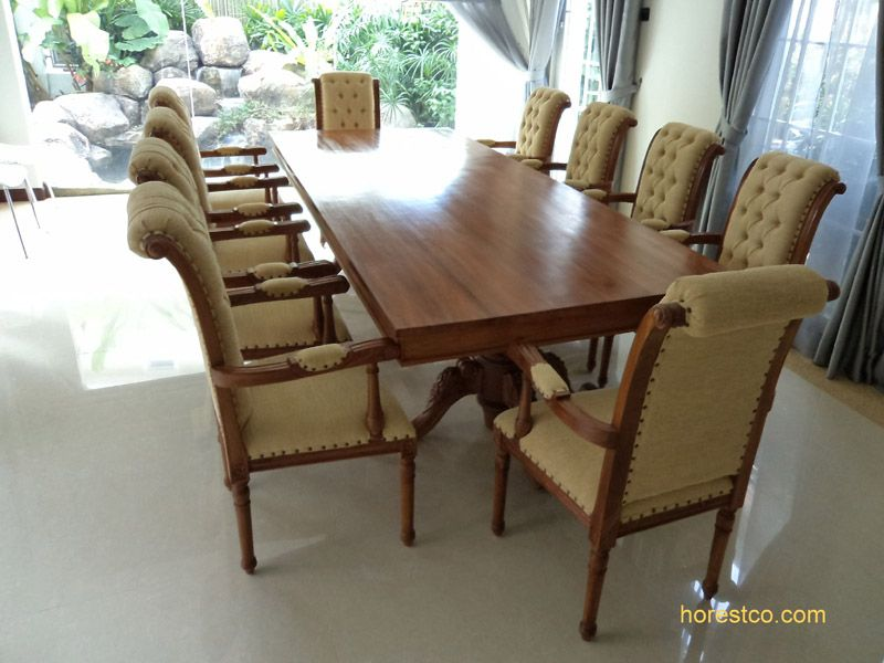 Sophia Dining Table Indoor Dining Tables Teak Furniture Malaysia And  Indonesia With Teak Indoor Dining Table.